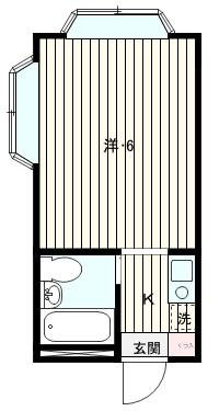 敷金1ヶ月、礼金ゼロ!   【賃貸】光パークマンション102,104,203